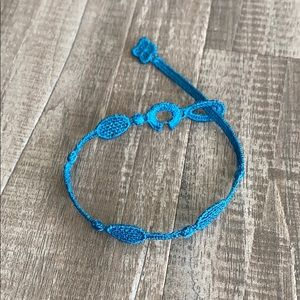 🎾 Cruciani C 🎾 Tennis Italian Bracelet 🤗🎾💙🍀
